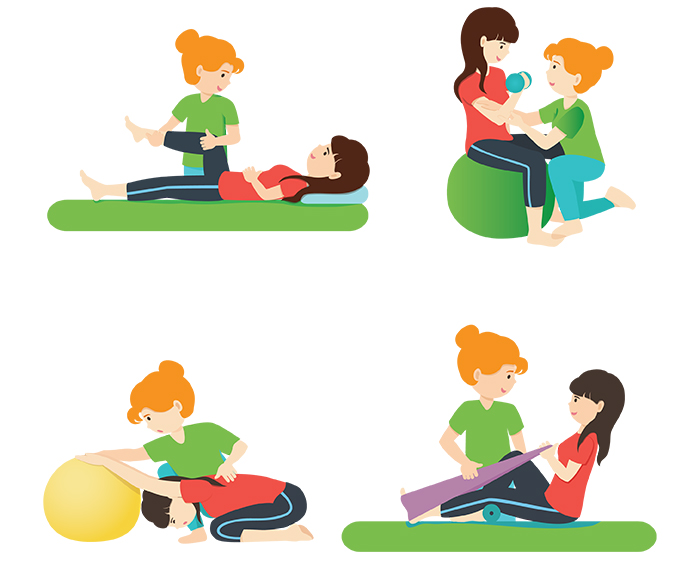 Physiotherapy Illustration